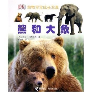 动物宝宝成长写真:熊和大象