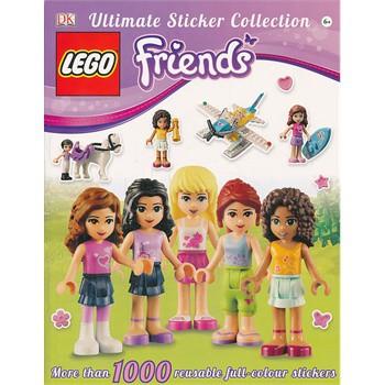 LEGO  Friends Ultimate Sticker Collection 乐高系列:好朋友贴纸集 ISBN