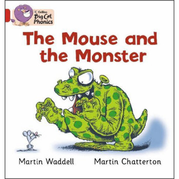 Collins Big Cat Phonics - The Mouse and the Monster: Red B/Band 2B