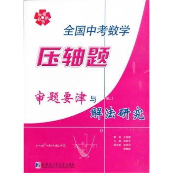 8库全国中考数学压轴题审题要津与解法研究 王成维9787560340579